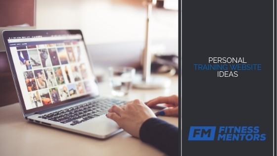 Personal Training Website Ideas
