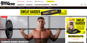 personal trainer website ideas
