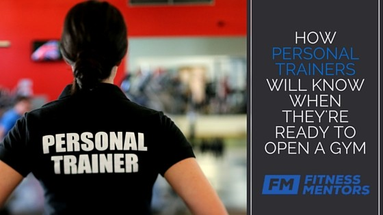 personal trainers ready to open a gym