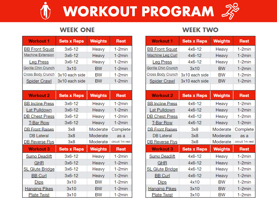 Sample-Workout-Program