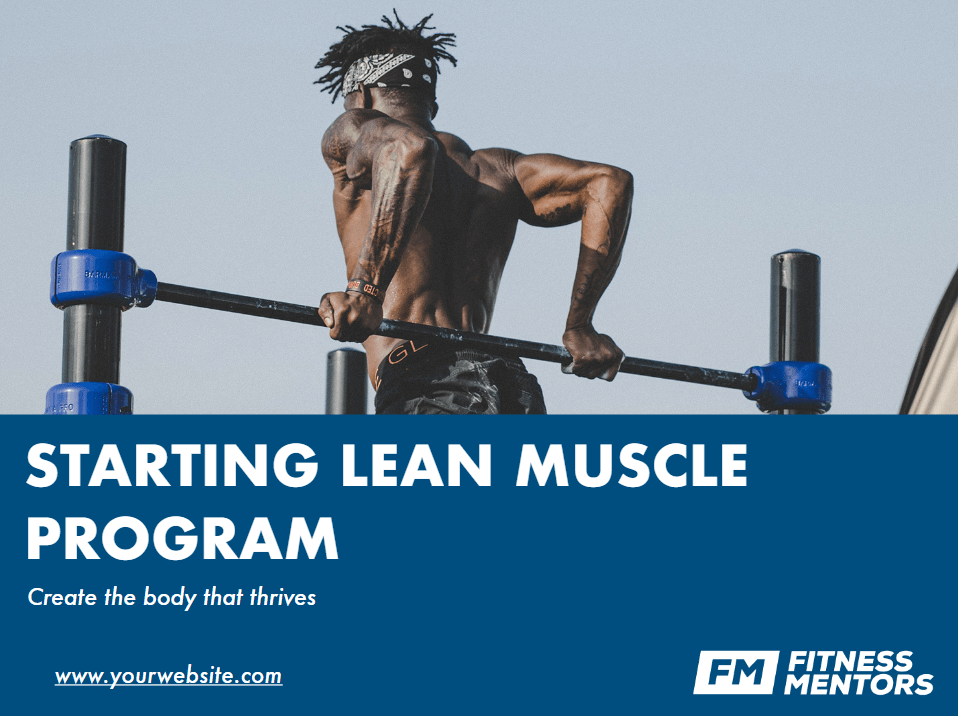 Starting-Lean-Muscle-Title-Page