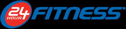 24 Hour Fitnesss Logo