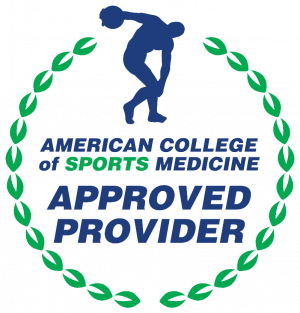 ACSM approved provider